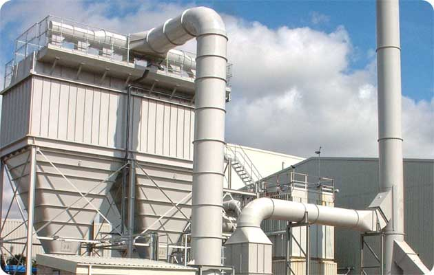 Reverse Jet Filter Plant Industrial Ventilation Systems
